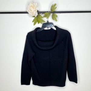 ❤️ Anthropologie Cowl Neck Cropped Sweater